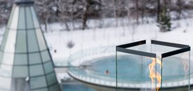 AQUA DOME Thermen Advent