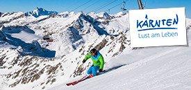 Skispaß im ewigem Eis