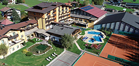 Sporthotel BRIXEN: viel Tennis